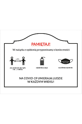 Informacja dla uczestników imprez zamkniętych Kliknięcie w obrazek spowoduje wyświetlenie jego powiększenia