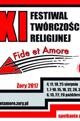 Program XI Festiwalu Twórczości Religijnej Fide et Amore 2017 Kliknięcie w obrazek spowoduje wyświetlenie jego powiększenia