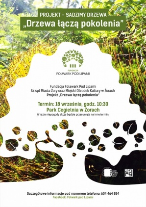 """""""Drzewa łączą pokolenia"""" - akcja dla dzieci  i seniorów Kliknięcie w obrazek spowoduje wyświetlenie jego powiększenia"""