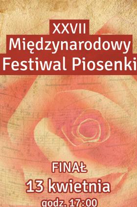 Wyniki eliminacji do XXVII Międzynarodowego Festiwalu Piosenki Żory 2018! Kliknięcie w obrazek spowoduje wyświetlenie jego powiększenia