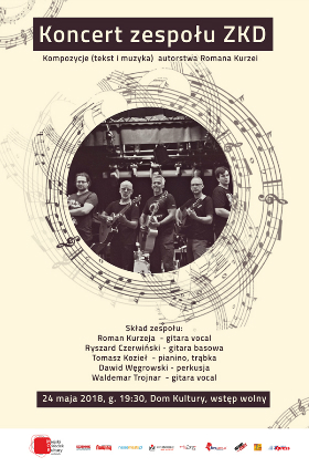 Koncert zespołu ZKD Kliknięcie w obrazek spowoduje wyświetlenie jego powiększenia