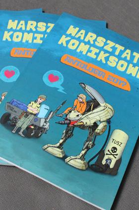 Nowe wydanie Antologii Warsztatów Komiksowych Kliknięcie w obrazek spowoduje wyświetlenie jego powiększenia