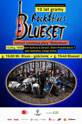 Blueset - 10 lat gramy